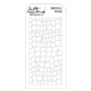 THS022 Stampers Anonymous Tim Holtz Layering Stencil - Crocodile